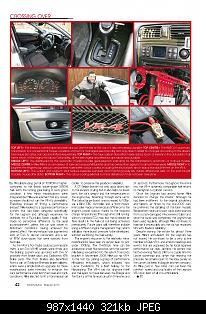Page 42    Please note that this is credited and copyrighted to Total Evolution / Total Car Magazines Ltd